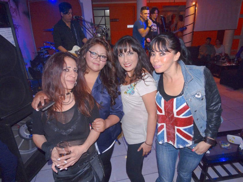 Melody, Alejandra, Paola y Sonia.