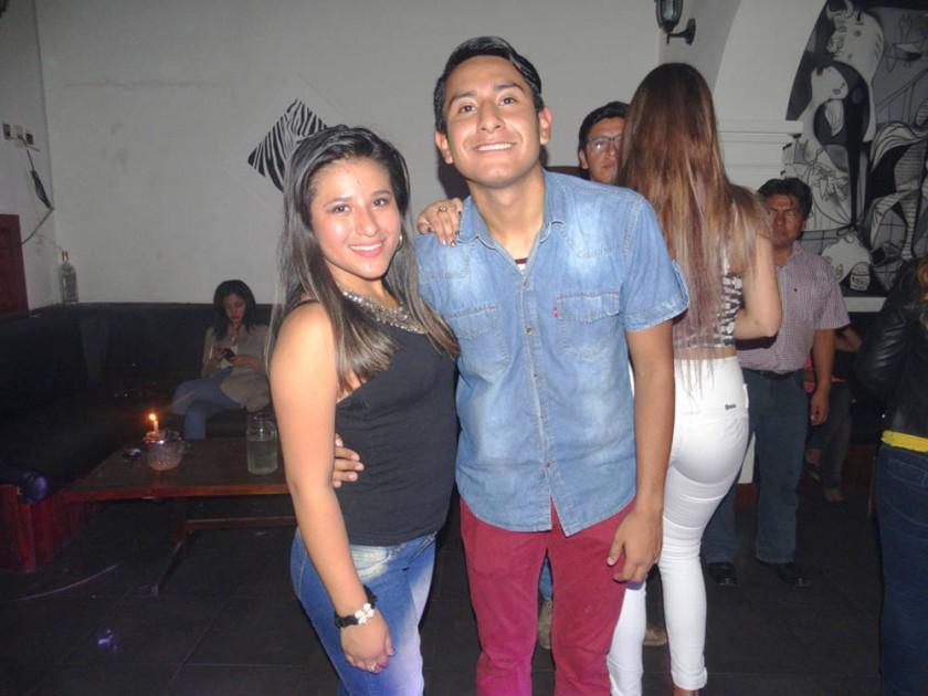 Natalie Palacios y Fernando Castillo.