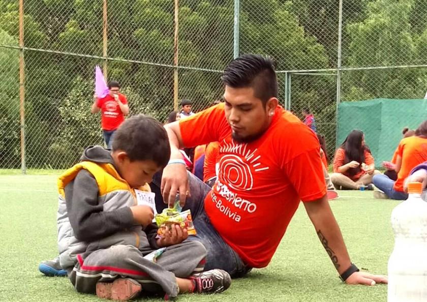 Voluntario Jesús Escalante.
