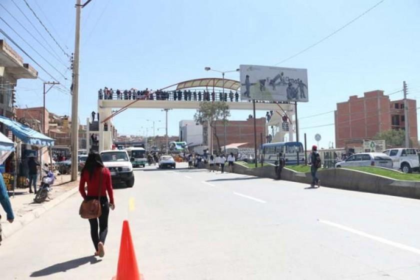 El secuestro y presunta violación sucedió cerca de la avenida Marcelo Quiroga Santa Cruz. Foto: Archivo