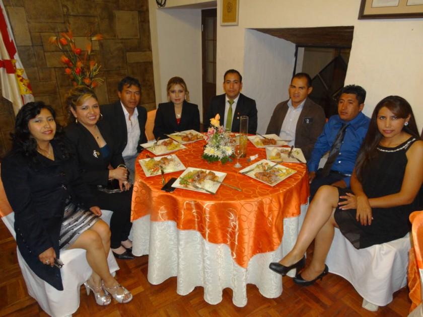 Marcelo Palacios, Ariel Ortega y Janeth Barreta