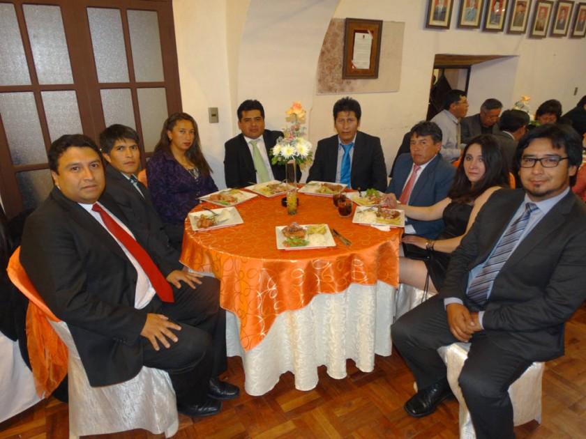 Gustavo Pereira, Ignacio Yucra, Rocío Camacho, Juan Vargas, Raúl Vargas, Jenner Gómez, Jimena Maita y Humberto Najera.