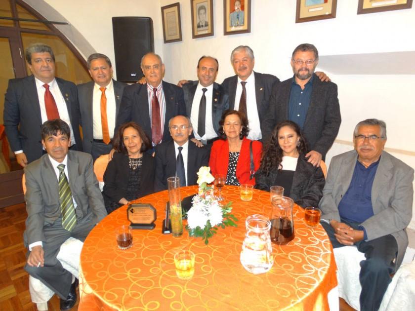Past presidentes del Colegio de Arquitectos de Chuquisaca