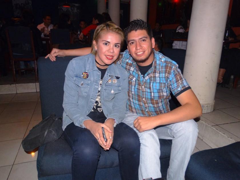 Lauren Céspedes y Fernando Leaño.