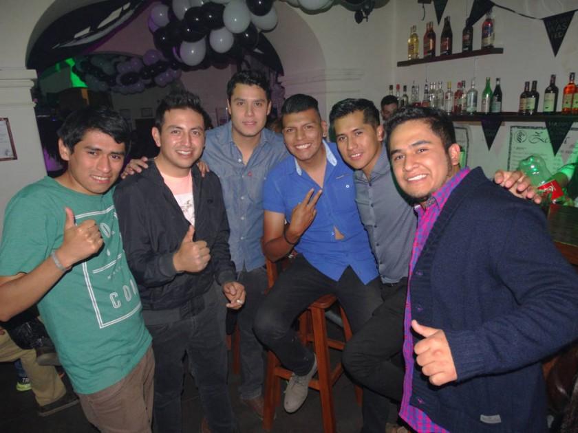 Mauricio Silva, Alfredo Mancilla, Rodrigo Durán, Waldo Fernández,  Freddy Sánchez y Leonel Rocha.