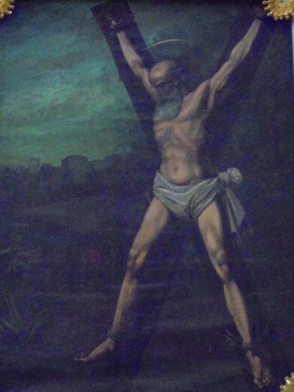 ¿De dónde viene la cruz de San Andrés?