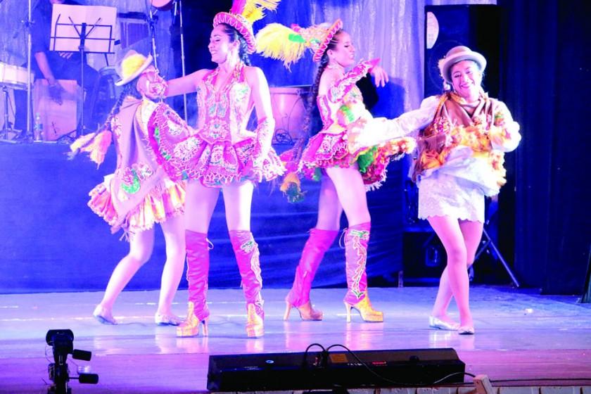 Danza folclórica de talla internacional