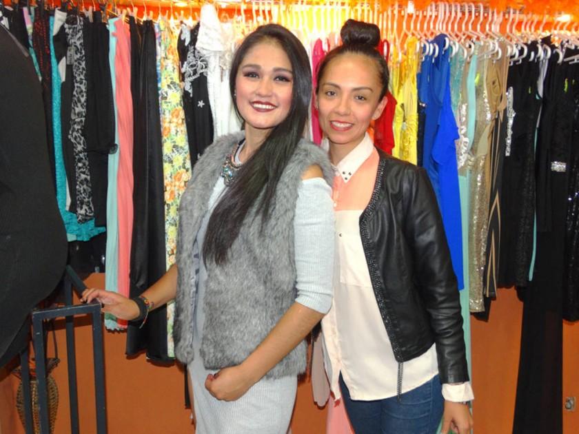 Paola Estévez y Karol Bolívar, Boutique Leoparda.