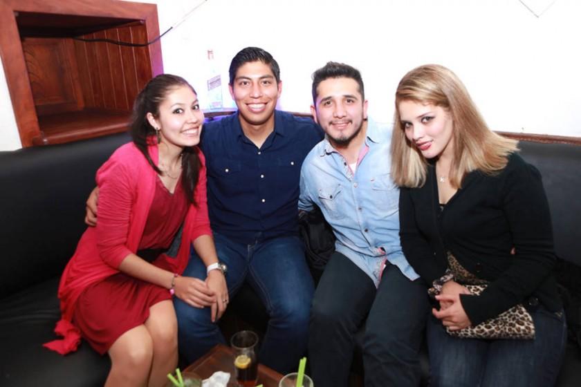 Andren. Sergio, Hugo y Katy.