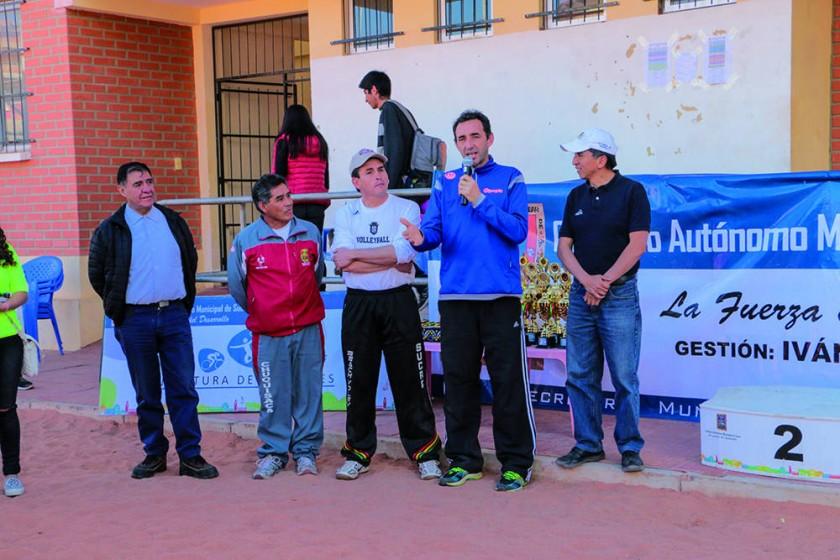 El fin de semana se desarrolló la III Etapa Nacional en Sucre.