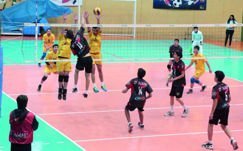 El equipo chuquisaqueño se impuso en la final a San Martín de Oruro y ascendió a la Liga Juvenil del Voleibol Boliviano,