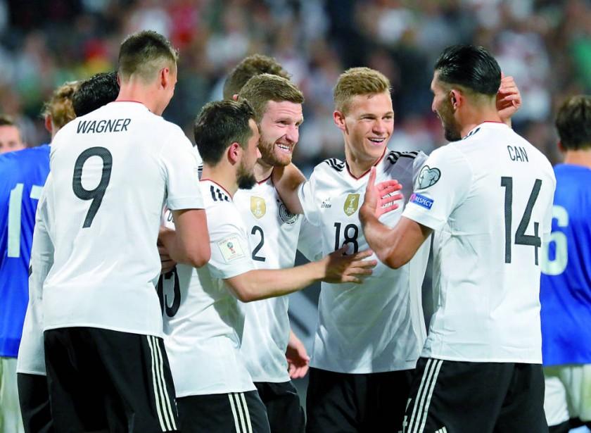 Alemania vapuleó a San Marino