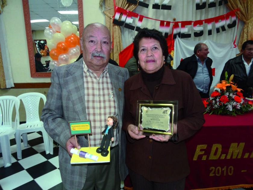 Emeterio Rodríguez y Ayda Gallardo.