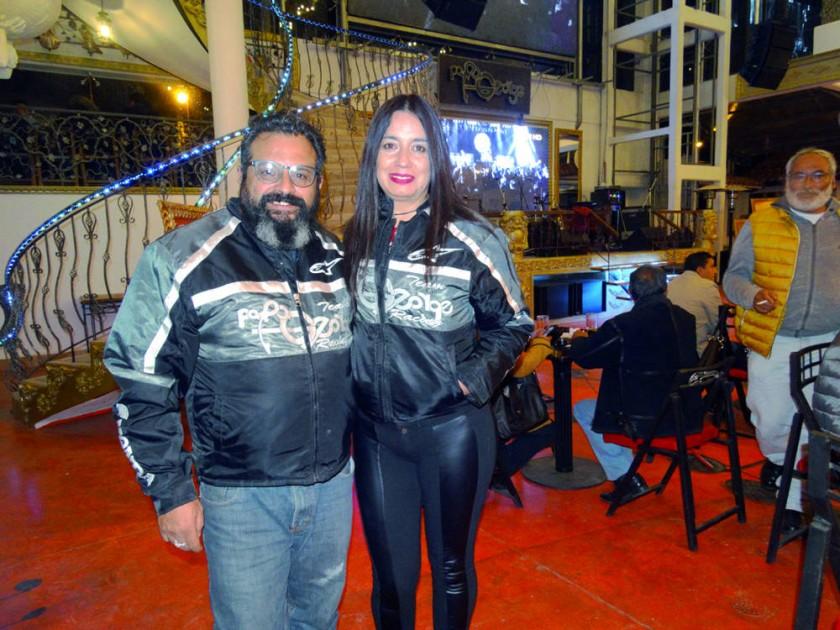 Javier Campero y Angélica Ocampo.