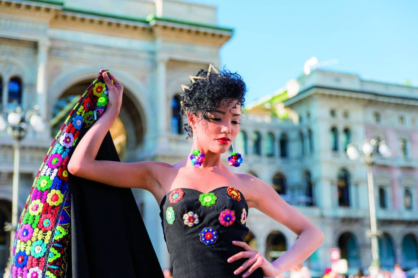 Antonella Boscolo, glamorosa y natural