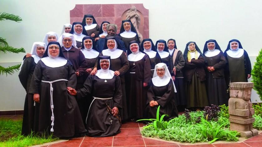 La Orden de las Hermanas Pobres de Santa Clara o Clarisas, tiene 381 años desde que fue fundada en Sucre.