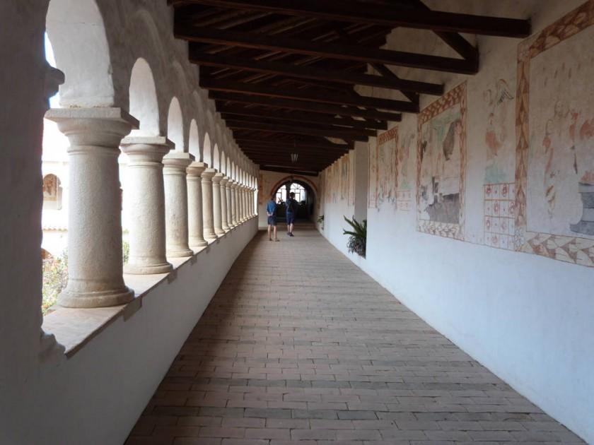 El monasterio de las Clarisas de Sucre