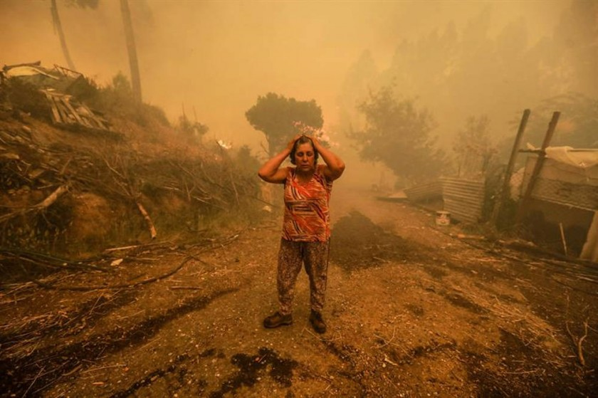 Portugal soporta mortal catástrofe