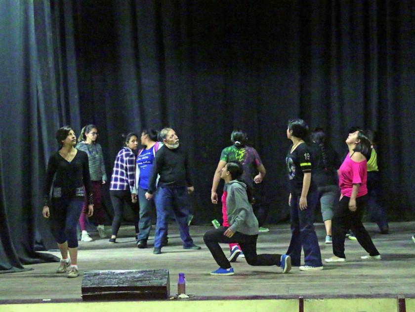 CAPACITACIÓN. El taller que imparte desde ayer el Teatro de los Andes.
