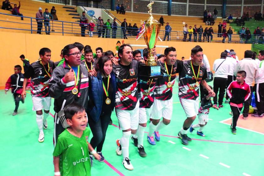 Chuquisaca, bicampeón en futsal