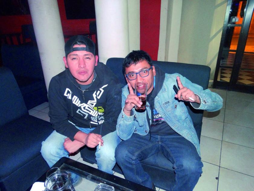 Kenny Cruz y Cheo Portugal.