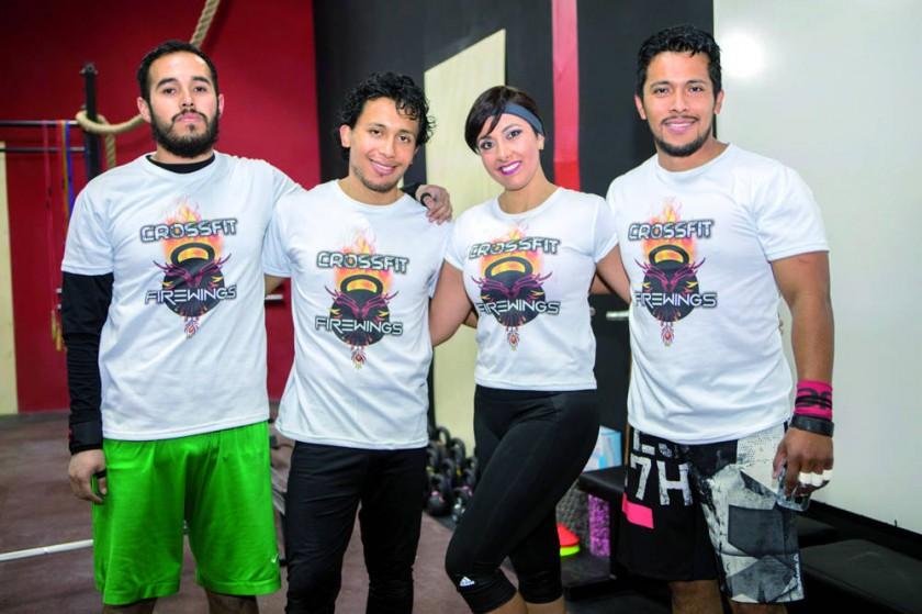 Diego Navarro, Rodrigo Navarro, Marcela Ávila y Mauricio Navarro.