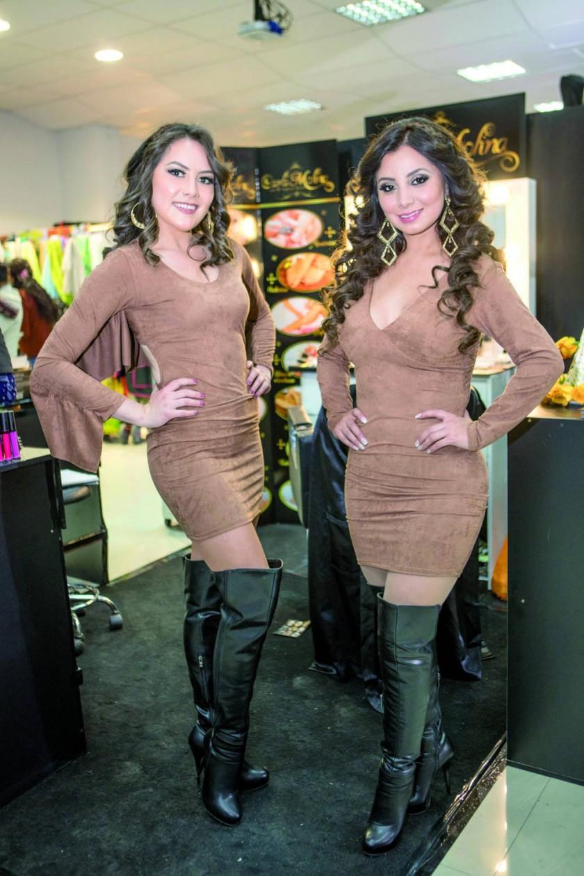Carla Molina Hair & Makeup Studio:  Gabriela Vladislavic y Lina Tapia.
