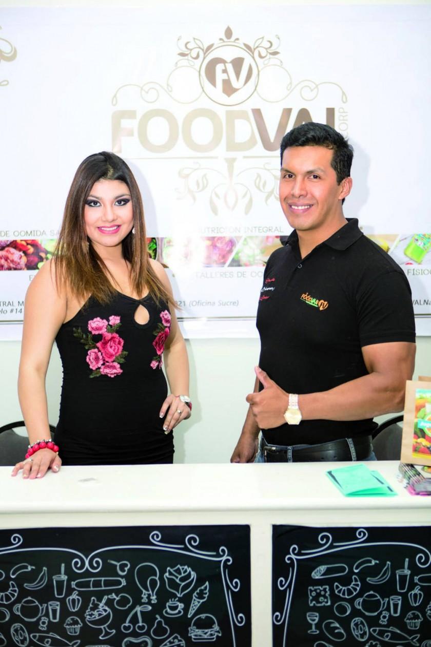 FoodVal Nutrición y Salud:  Carolina Cortez y Gabriel Villegas.