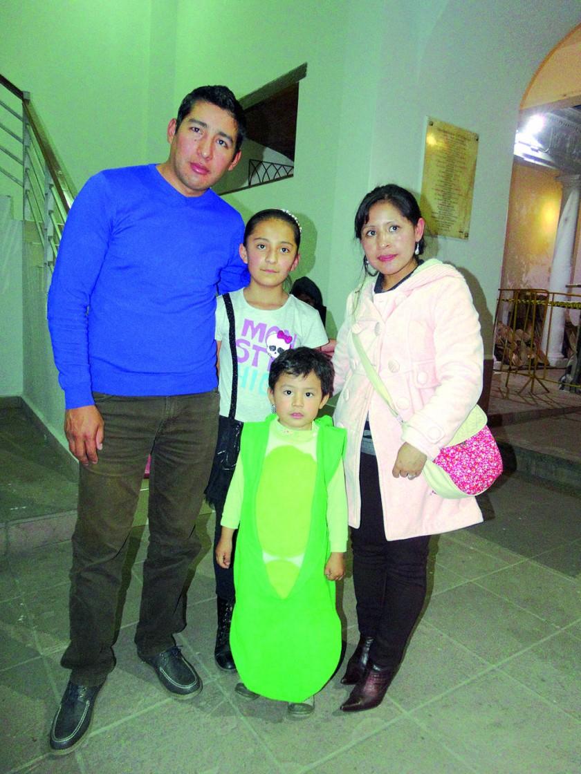 Familia Ballester y Quispe.