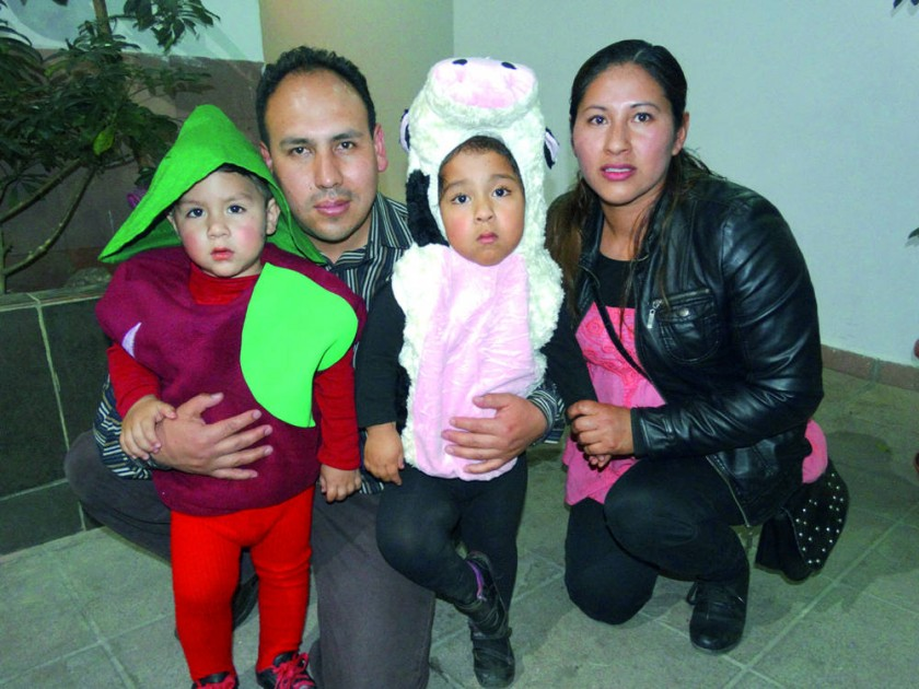 Familia Loma Velásquez.
