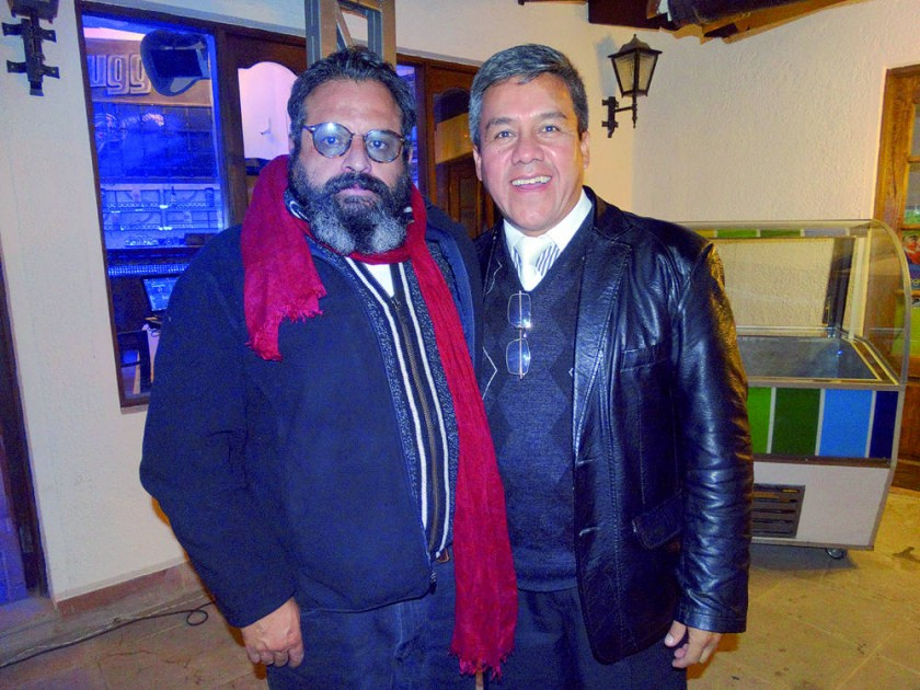 Javier Campero y Marcelo Barrios.