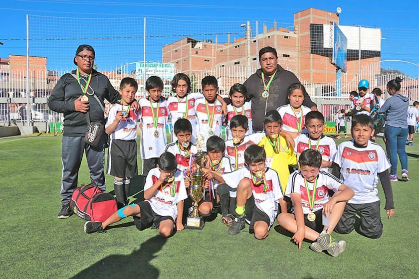 Alemán de Sucre se coronó campeón en la Sub 13, Ayacucho se quedó con el título de la Sub 9.