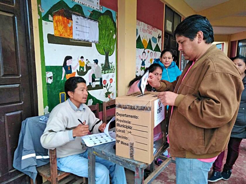 El Sí se impuso en Macharetí y el No ganó en Huacaya entre denuncias