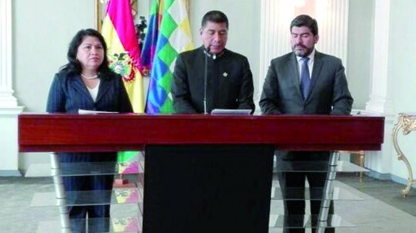 Evo: Cancilleres de Chile y Bolivia fijan cita para el 25 en Santa Cruz