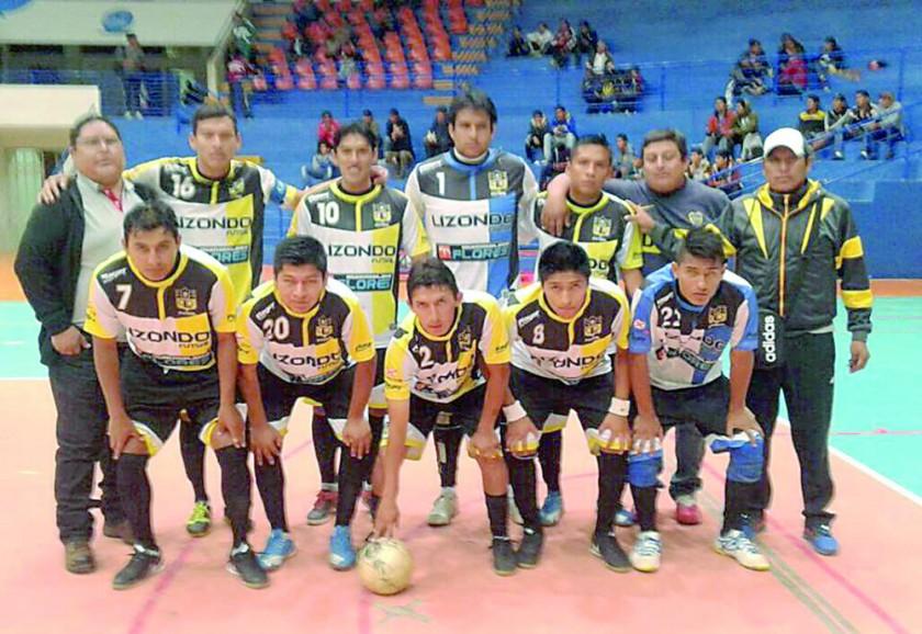 Universitario y Lizondo representarán a la región en la segunda versión de la Liga Nacional de Futsal.