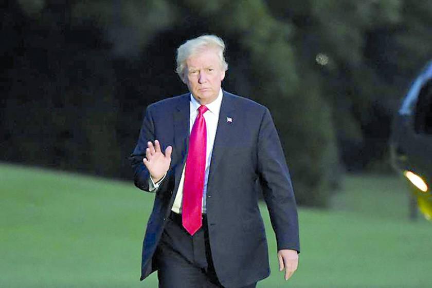 PRESIDENTE. Donald Trump.