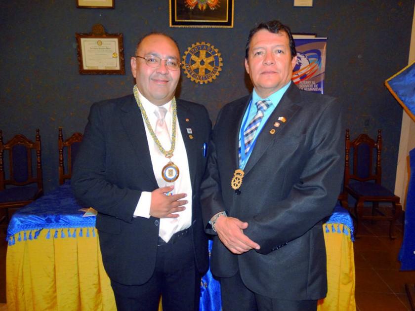 Rotary Club De Los Charcas: José Luis Durán y Javier Durán.
