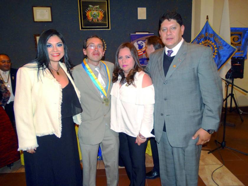 Nuevo Directorio del Rotary Club de La Plata.