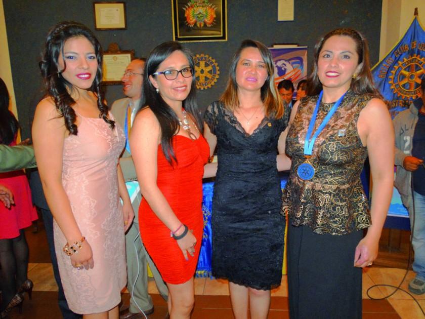 Nuevo Directorio del Rotary Club Chuquisaca.