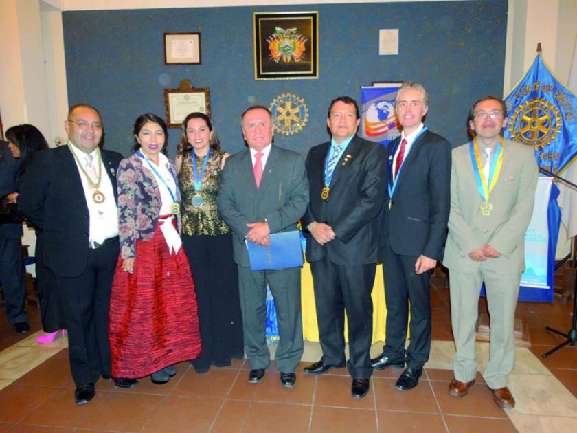 Past Presidentes y Presidentes Rotarios.
