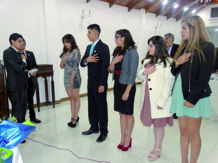 Posesión del Rotaract Sucre.