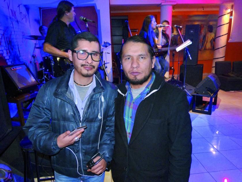 Marco Antonio Chumacero y Rando Vásquez.