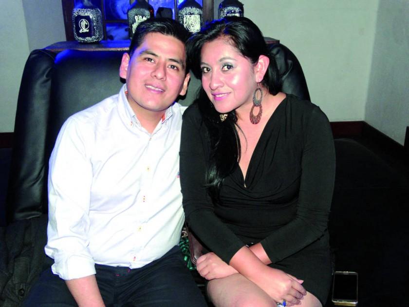 Ariel Lupa e Irma Vargas.