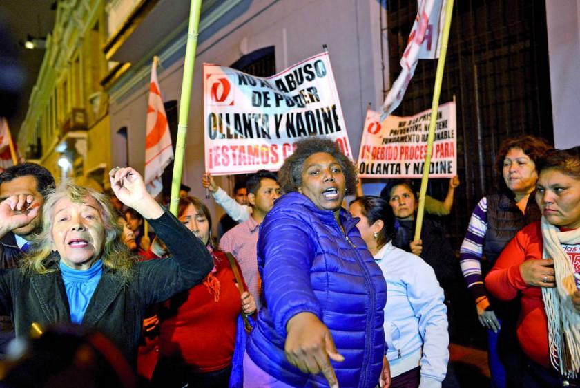Dan 18 meses de cárcel a Humala y su esposa en Perú