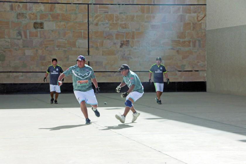 Ayer se disputó la primera jornada del certamen nacional en los frontones del estadio Patria.