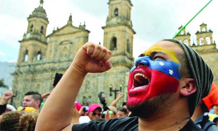 Contundente NO a Maduro