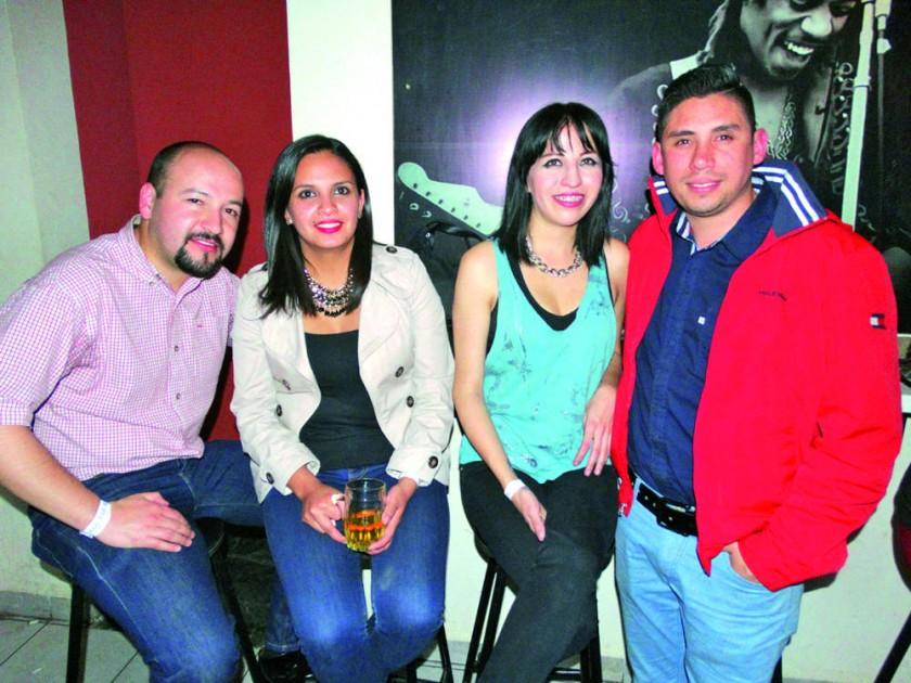 Ignacio Grock, Carolina Orellana, Laura Kukoc y José Arnau.