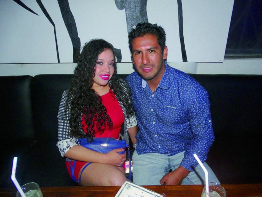 Pamela Velásquez y Mariano Rojas.