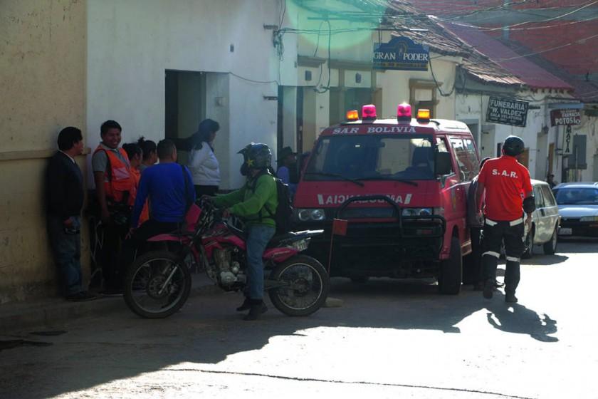 Accidentes dejan dos muertos y nueve heridos cerca de Sucre