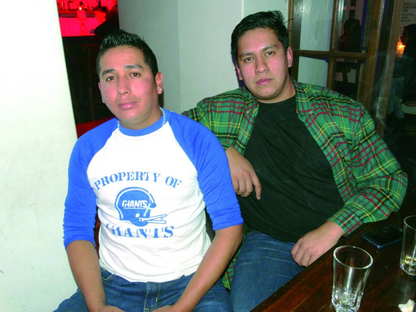 Lele Nessta y Manuel Cuellar.